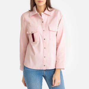 Рубашка-жакет CAROLA BA&SH. Цвет: розовый