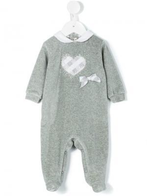 Пижама Heart Loredana. Цвет: серый