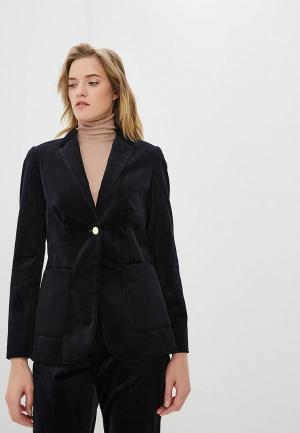 Пиджак Pennyblack. Цвет: синий
