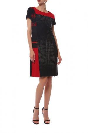 Платье FUEGO WOMAN. Цвет: красный