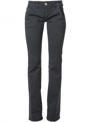 Расклешённые брюки-чинос Dondup. Цвет: серый