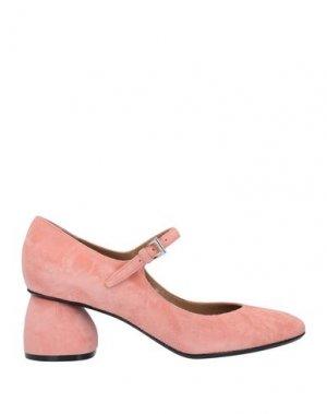 Туфли CARVEN. Цвет: розовый