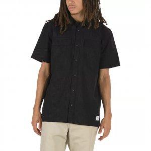 Рубашка Devon SS VANS. Цвет: черный