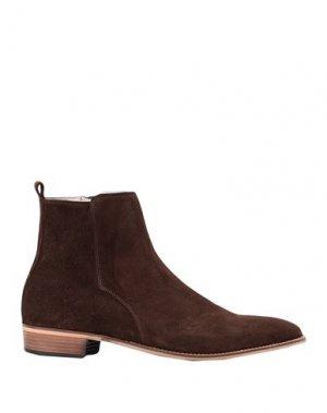Полусапоги и высокие ботинки ARTIGIANI AURELIO GIOCONDI. Цвет: коричневый