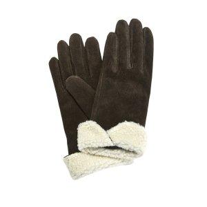 Перчатки LaRedoute. Цвет: каштановый