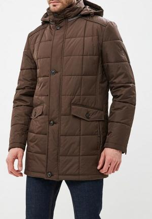 Куртка утепленная Absolutex. Цвет: коричневый