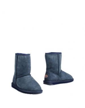 Полусапоги и высокие ботинки EMU. Цвет: пастельно-синий