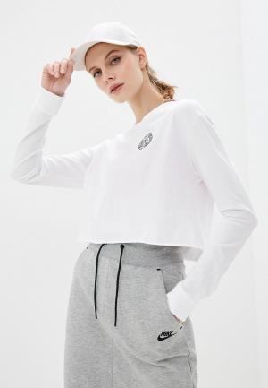 Лонгслив Nike W NSW TEE FEMME 2. Цвет: белый