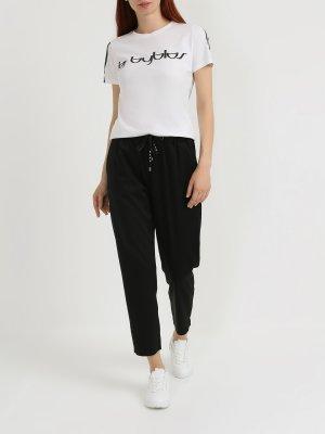 Женская футболка By Byblos. Цвет: belyy