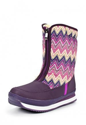 Дутики Boomboots. Цвет: фиолетовый