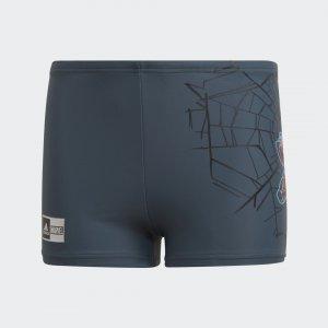 Плавки-боксеры Marvel Spider-Man Performance adidas. Цвет: красный
