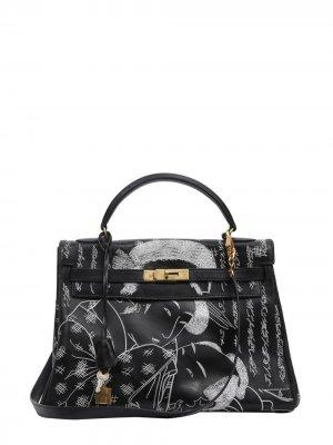 Hermès Kelly Retourné 32 tote bag Jay Ahr. Цвет: черный