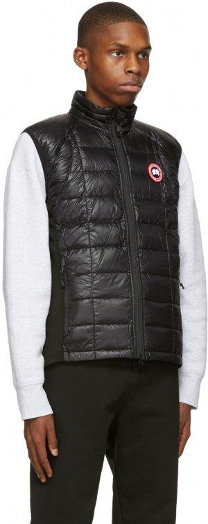 Black Down Hybridge Lite Vest Canada Goose. Цвет: black