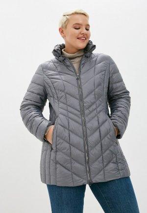 Куртка утепленная Betty Barclay. Цвет: серый