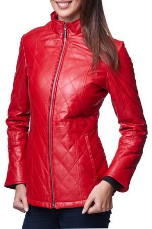 Куртка Jean Guise. Цвет: красный