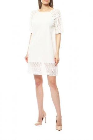 Платье GIAMBATTISTA VALLI. Цвет: белый