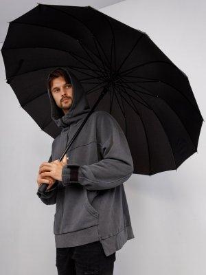 Зонт BS Black Star Wear. Цвет: черный
