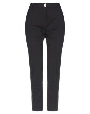 Повседневные брюки BSB. Цвет: черный