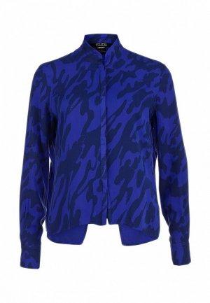 Блуза 55DSL DS001EWAGU43. Цвет: синий