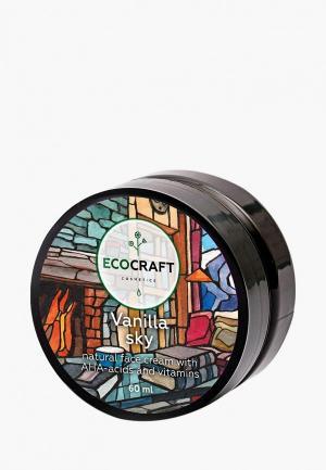 Крем для лица Ecocraft с витаминами и АНА-кислотами лифтинг-эффектом. Цвет: прозрачный