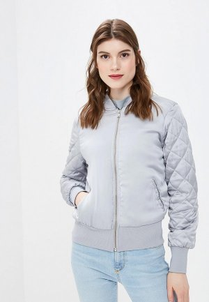 Куртка утепленная Moon River. Цвет: серый