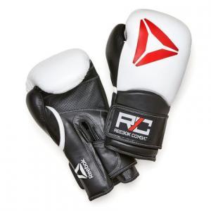 Боксерские перчатки Combat Reebok. Цвет: white / white