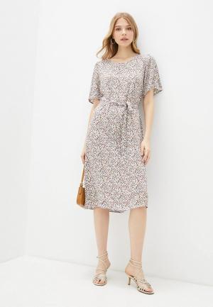 Платье Jacqueline de Yong. Цвет: бежевый