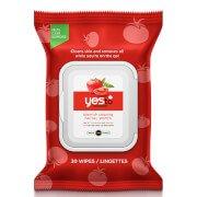 Очищающие салфетки для комбинированной кожи с экстрактом томата yes to Tomatoes Blemish Clearing Facial Wipes (30 шт.)