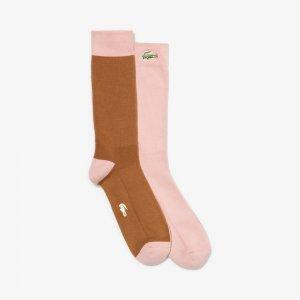 GOLF le FLEUR Носки Lacoste. Цвет: розовый