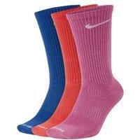 Женские носки до середины голени для тренинга Nike Everyday Plus Lightweight (3 пары)