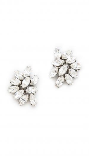 Crystal Cluster Earrings Ben-Amun