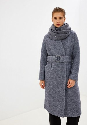 Пальто Acasta. Цвет: синий