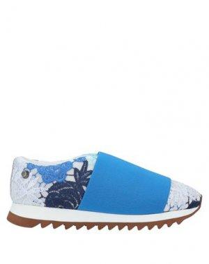 Кеды и кроссовки JUDARI. Цвет: лазурный