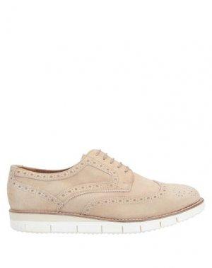 Обувь на шнурках MFW COLLECTION. Цвет: песочный