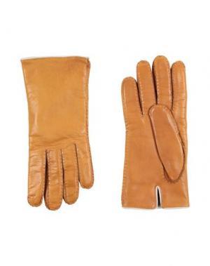 Перчатки MALO. Цвет: охра