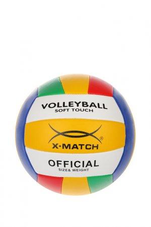 Мяч волейбольный, 2,0 PVC X-Match. Цвет: мультицвет