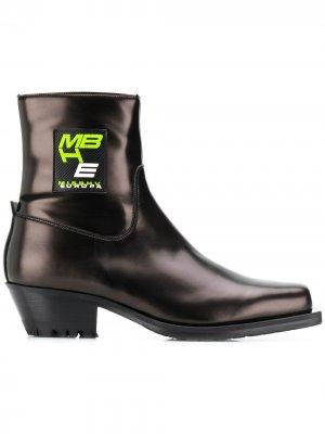 Ботинки с нашивкой-логотипом MISBHV. Цвет: черный