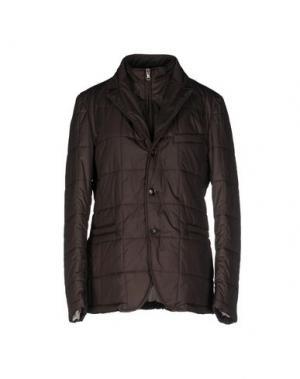 Куртка TOMBOLINI. Цвет: темно-коричневый