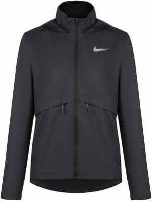 Ветровка женская , размер 40-42 Nike. Цвет: черный