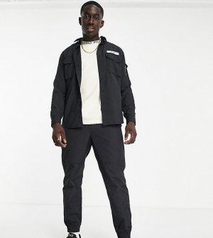 Черные брюки из ткани рипстоп с ремнем и логотипом в виде пони эксклюзивной совместной коллекции x ASOS-Черный цвет Polo Ralph Lauren