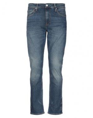 Джинсовые брюки CALVIN KLEIN JEANS. Цвет: синий