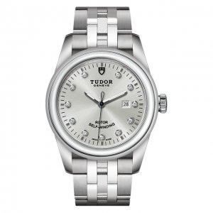 Часы Glamour Date Tudor. Цвет: серебряный