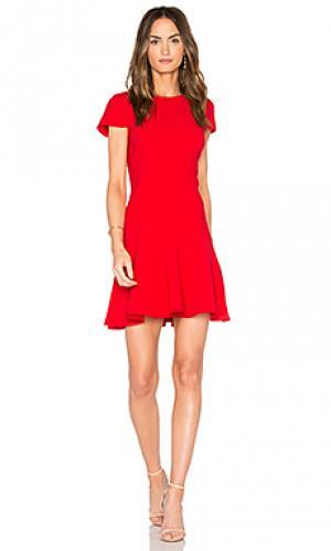 Платье hudson Amanda Uprichard. Цвет: красный