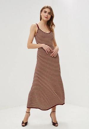 Платье Tommy Hilfiger Zendaya. Цвет: бордовый