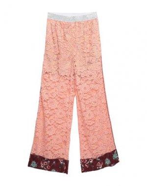 Повседневные брюки I'M ISOLA MARRAS. Цвет: пудровый