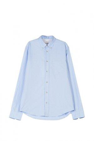 Рубашка Acne. Цвет: голубой
