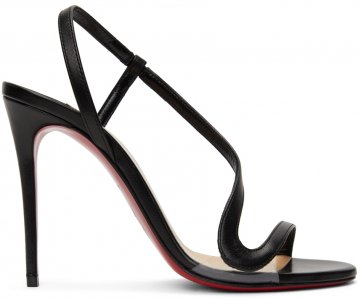 Black Rosalie 100 Heels Christian Louboutin. Цвет: bk01 black