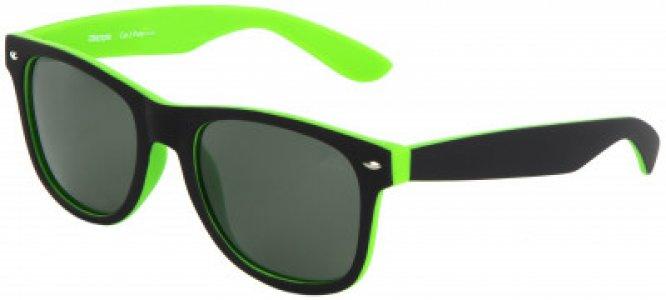 Очки солнцезащитные Kappa. Цвет: зеленый