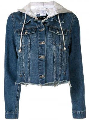 Джинсовая куртка Cara Veronica Beard. Цвет: синий