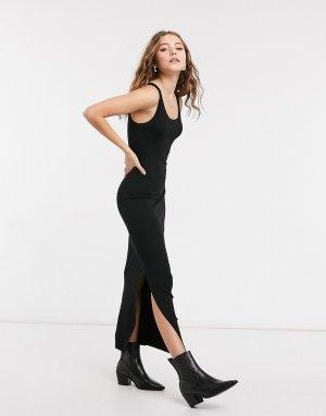 Черное платье-майка Rina-Черный AllSaints